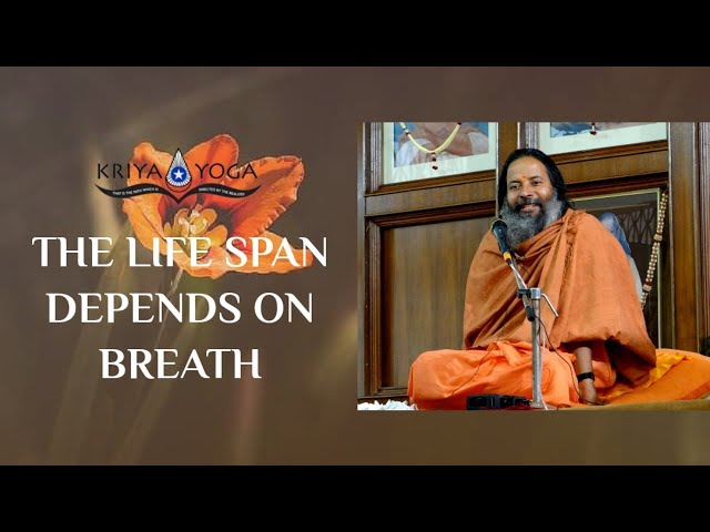 The Life Span Depends on Breath