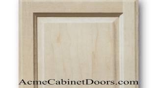 Unfinished Maple Raised Panel Cabinet Door