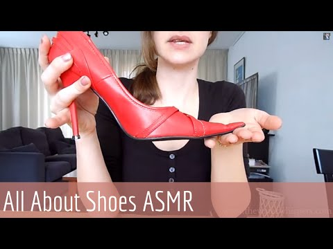 [HD] Soft spoken ASMR Sales woman Role play - Shoe Shopping