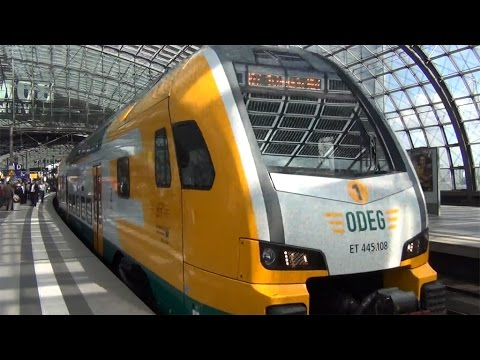 Trains and Sights around Berlin Germany 5/19/2015