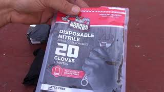 Grease Monkey Rubber Gloves, Comparing the Thick and Thin Gloves