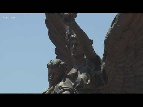 Confederate Monument Fame Removed From Downtown Salisbury, North Carolina