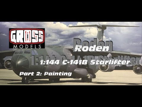 Roden Starlifter part 2: Painting and weathering