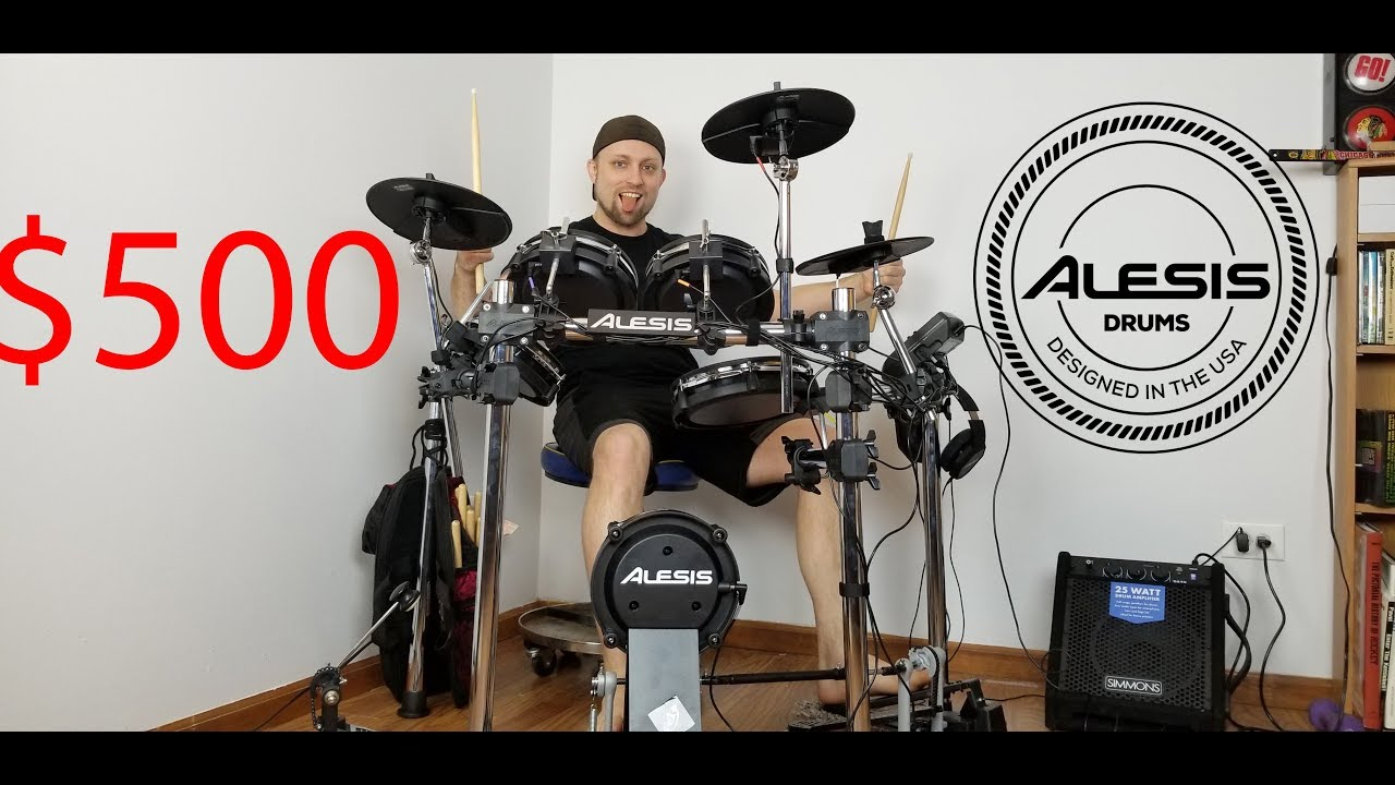 alesis surge mesh unboxing review best cheap electric drum kit best electric drum set for. Black Bedroom Furniture Sets. Home Design Ideas