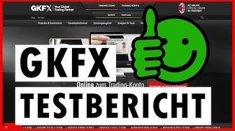 GKFX Forex und CFD Broker / Unabhängiger Testbericht
