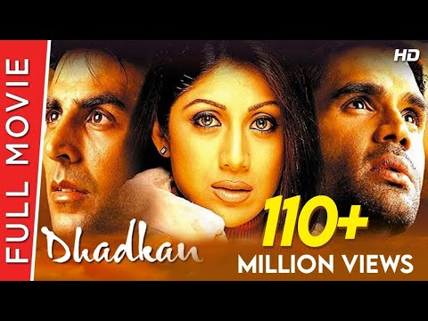 Dhadkan  Full Hindi Movie  Akshay Kumar, Shilpa Shetty, Suniel Shetty  Full HD 1080p