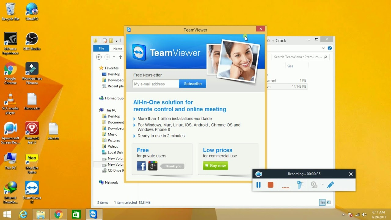 teamviewer 13 premium license key