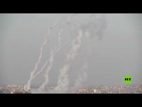 إطلاق صواريخ من غزة باتجاه القدس