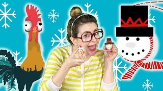 Snowman DIY Ornament + Moana's Hei Hei! | Arts and Crafts with Crafty Carol