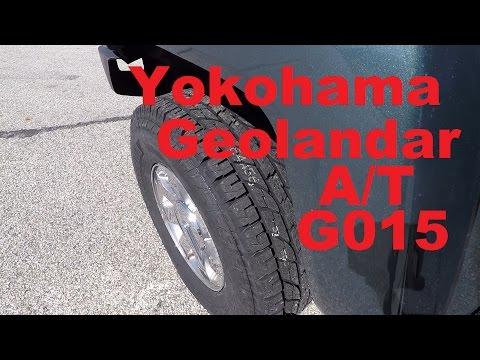Yokohama Geolandar A/T G015 First Impressions