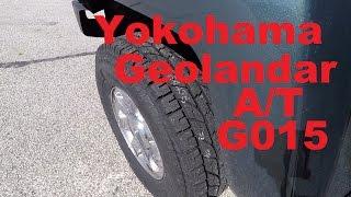 yokohama geolandar a t g015 first impressions