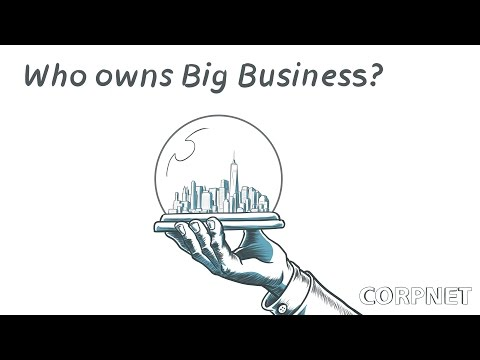 Who owns big business: the rise of passive investors (@uvaCORPNET)