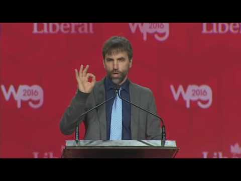 2016 Liberal Convention – Steven Guilbeault