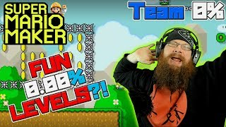 0.00% UNCLEARED LEVELS ARE FUN?! - Super Mario Maker - OSHIKOROSU TAKES ON TEAM 0% LEVELS!