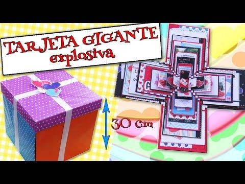 TARJETA GIGANTE Explosiva - AMOR,...