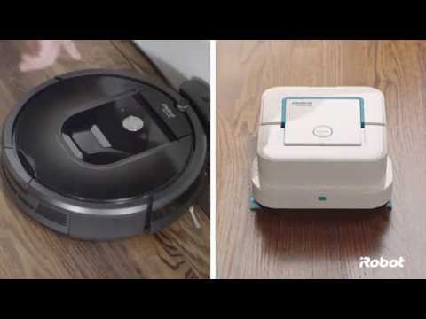 iRobot Floor Care Overview | Roomba® Robot Vacuum & Braava jet™ Robot Mop