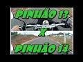 Teste de Morro com a Honda XRE 300 pinhão 13 Vs pinhão 14 Arrancada e Velocidade Final