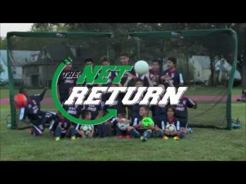 The Net Return Pro Series Soccer Net