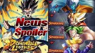 News & Spoiler in Dragon Ball Legends! Was denkt ihr zu all den Bildern und Broly? ;)