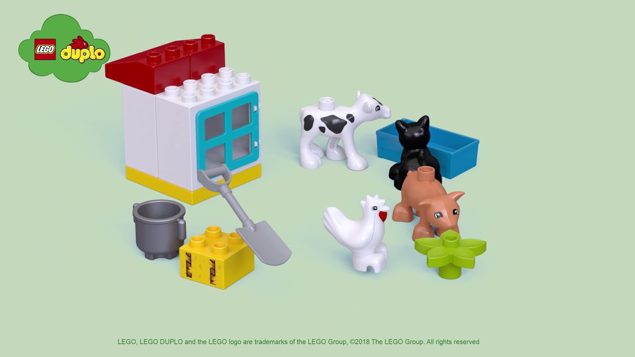 Lego 10870 Duplo Town Farm Animals Lego Complete Sets Packs
