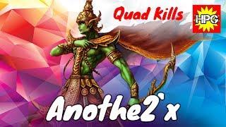 HoN Pro Forsaken Archer Gameplay / Anothe2`x / Diamond I