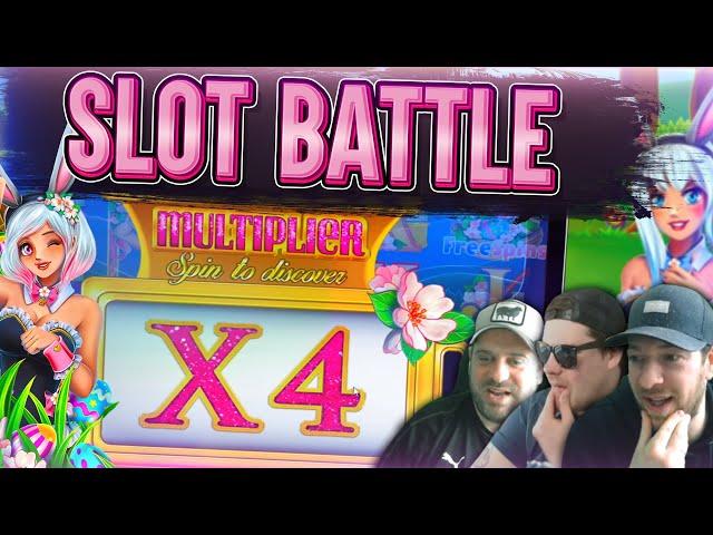 SLOT BATTLE EASTER SPECIAL! - Fat Rabbit, White Rabbit & MORE!