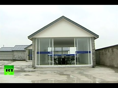 Video: Giant Chinese 3D printer builds 10 houses in just 1 day