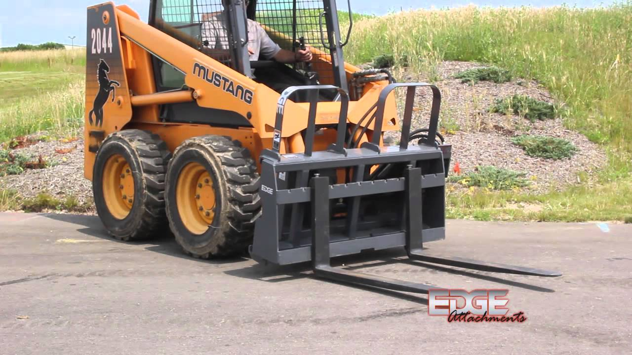 Edge Pallet Forks Side Shift Carriage Hydraulically From