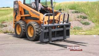 EDGE Pallet Forks - Side Shift Carriage Hydraulically from the Skid Steer Cab. Thumbnail
