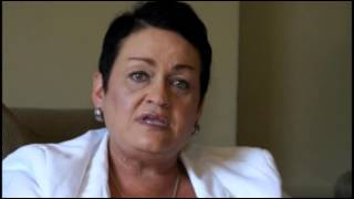 Self harm, cutting and rape video testimony by Carol O