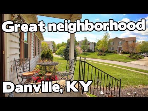 home in a Great Neighborhood in Danville, Kentucky. Kentucky Homes For Sale