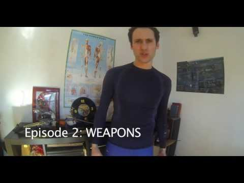 Zombie Survival Training with William Stradler  Episode 2: Weapons