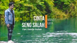 Marvey Kaya - Cinta Seng Salah (Lyrics video) LAGU AMBON TERBARU 2020
