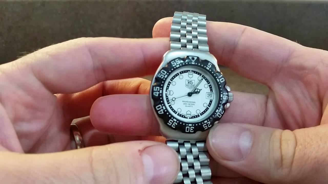 1997 Tag Heuer F1 Vintage Watch With Box And Papers