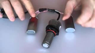 żarwki led markery 25 wat h8 h11 hb4 do świateł przeciwmgielnych lub dziennych drl bmw vw