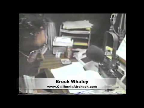BROCK WHALEY KPOI HONOLULU RADIO - DJ RADIO VIDEO AIRCHECK