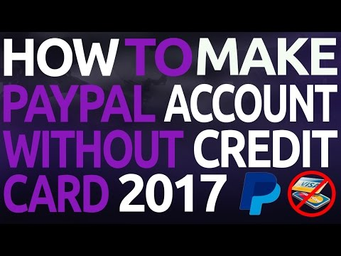 How To Get Paypal Account Without Credit Card Easy Method