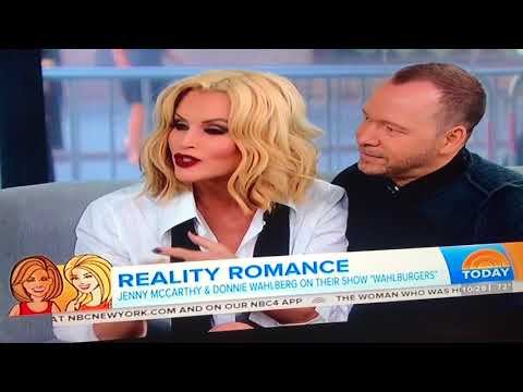 Donnie Wahlberg & Jenny McCarthy on Today show 9/13/17