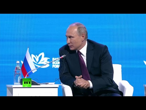 Putin takes part in Eastern Economic Forum plenary session in Vladivostok (streamed live)