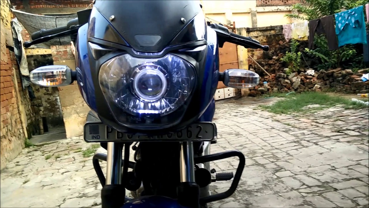 led hid projector Headlight for pulsar 180 1080p