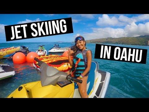 Hawaii Vlog Day 6: Jet Skiing, Bumper Tubing, + Scuba Diving || FarinaVlogs