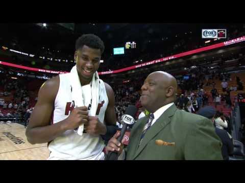 Hassan Whiteside -- Miami Heat vs. Indiana Pacers 02/25/2017