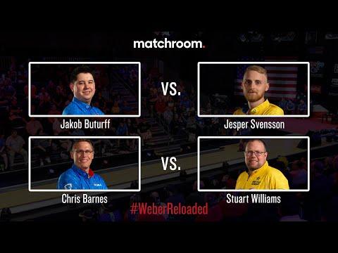 Butturff vs. Svensson & Barnes vs. Williams - 2019 Weber Cup