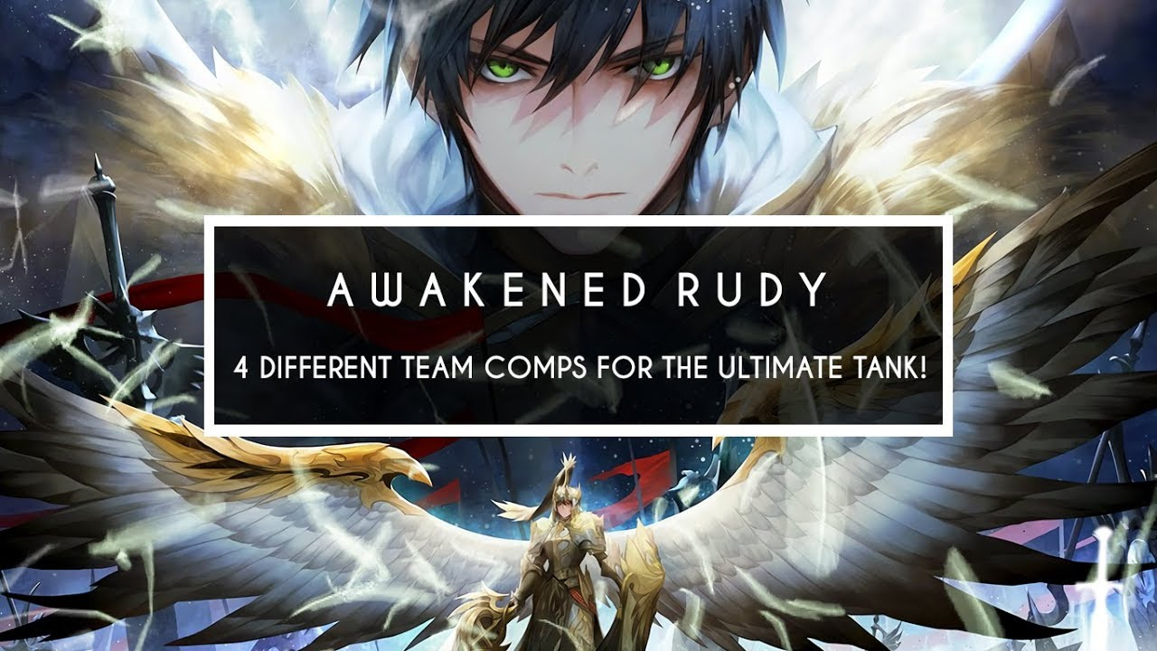 [SEVEN KNIGHTS] AWAKENED RUDY ~4 Team Comp Arena Test!~