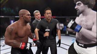 Mike Tyson vs. Kamanit - EA Sports UFC 2 - Boxing Stars 🥊