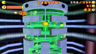 Pac-Man: Adventures in Time - Maze 45: Reactor Core (2000)