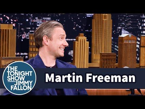 Martin Freeman's Captain America Costume Is Well-Tailored