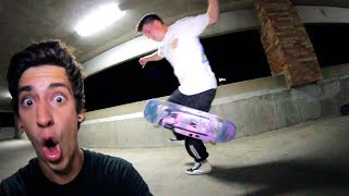 HOW TO NO COMPLY FAKIE BIGSPIN!