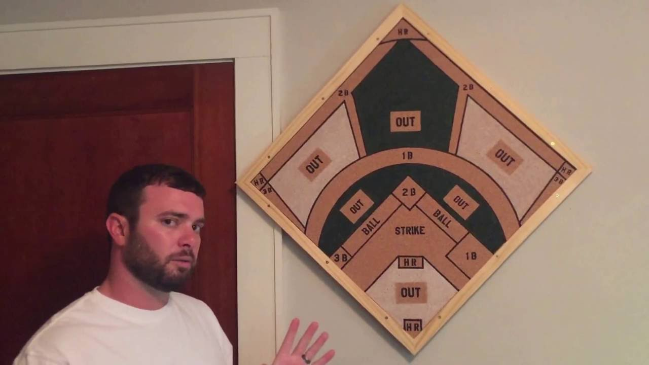 Baseball Dartboard Instructions Right Triangle Games Youtube