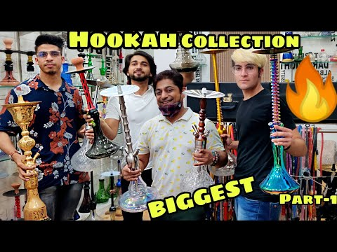 BIGGEST HOOKAH COLLECTION in INDIA,  Ft.Alshan World
